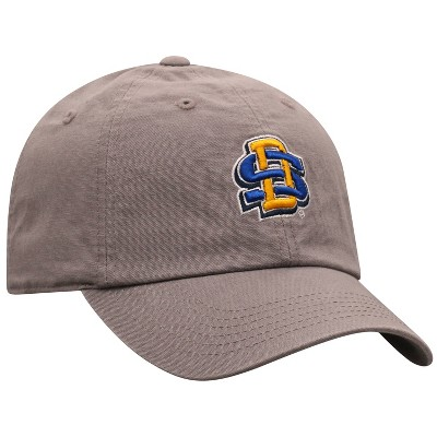 NCAA South Dakota State Jackrabbits Men's Gray Garment Washed Canvas Hat