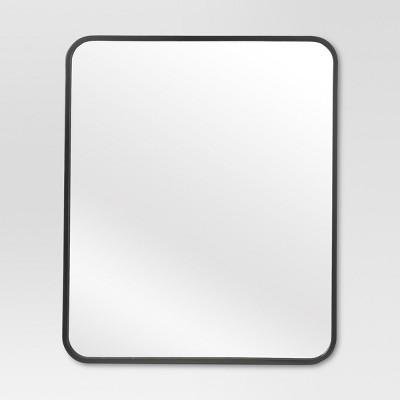 Metal Framed Wall Mirror (20  X 24 )Black - Project 62™