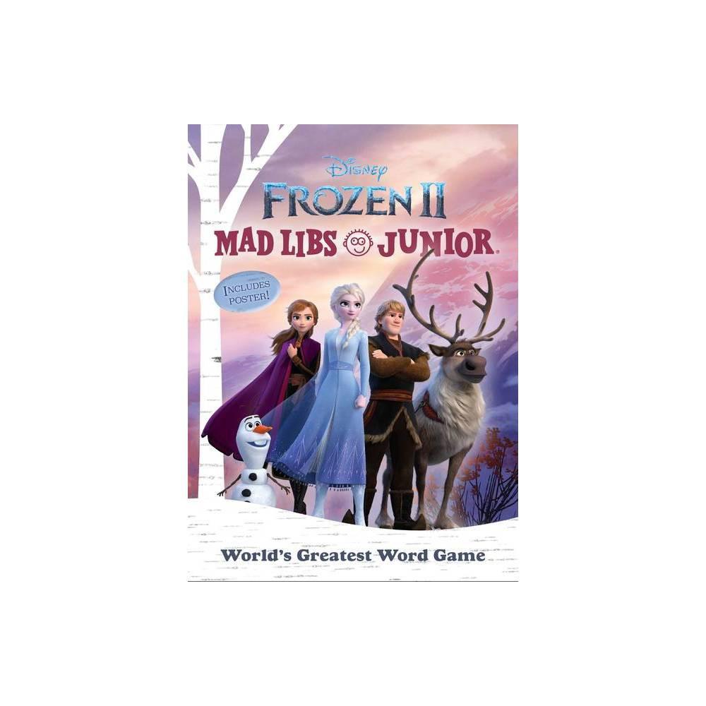 Frozen 2 Mad Libs Junior By Molly Reisner Paperback