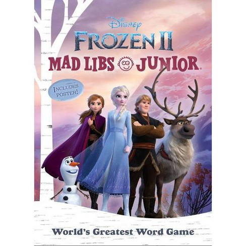 Frozen 2 Mad Libs Junior - by  Molly Reisner (Paperback) - image 1 of 1