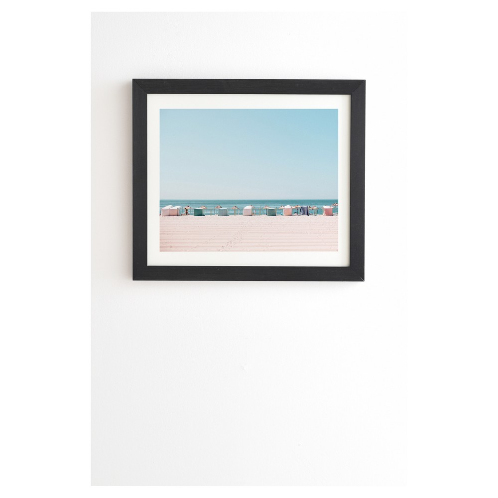 Hello Twiggs Beach Huts Framed Wall Art 19