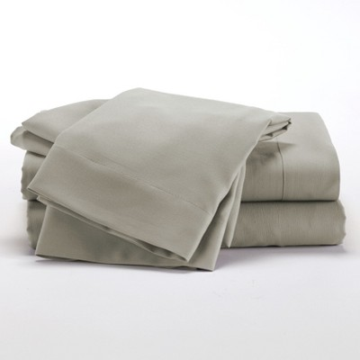 Lakeside Taupe Microfiber Bedding Sheet Set with Matching Pillowcases