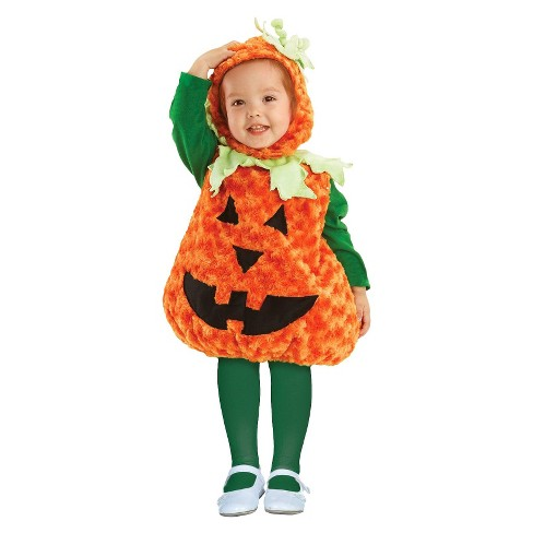 Kids' Pumpkin Costume Small - image 1 of 1