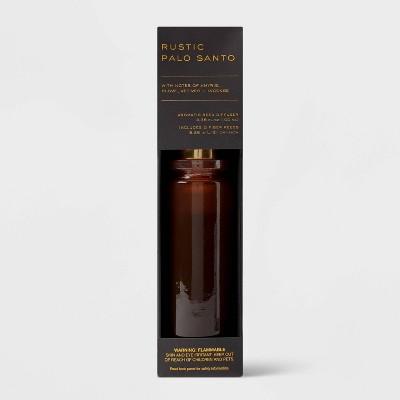 100ml Rustic Palo Santo Black Label Fiber Oil Reed Diffuser - Threshold™