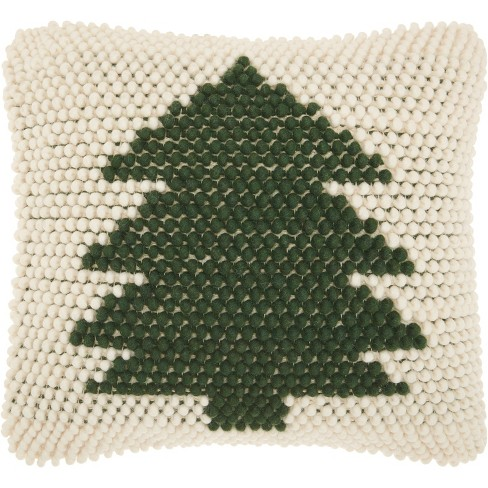 "20""x20"" Mina Victory Loop Christmas Tree Throw Pillow - image 1 of 2"