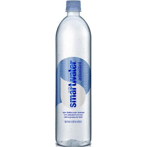 Smartwater Antioxidant Vapor Distilled Water Beverage - 33.8 fl oz Bottle - image 1 of 2