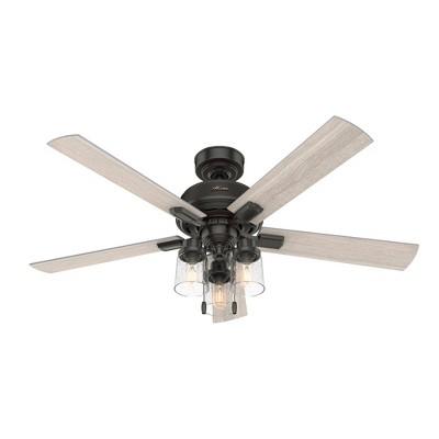 """52"""" Hartland Ceiling Fan (Includes LED Light Bulb) - Hunter Fan"""