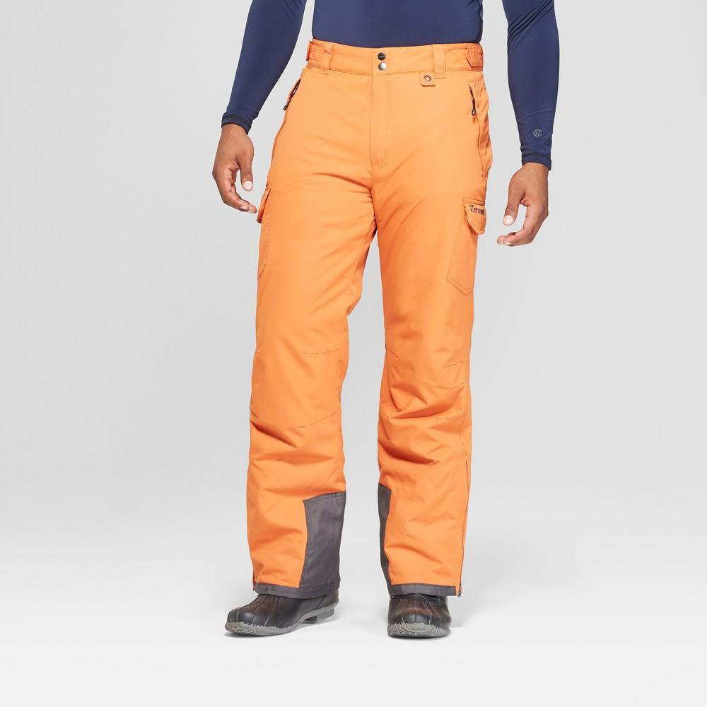 6b4c07cb6b3 Mens Cargo Snow Pants Zermatt Orange M