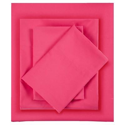 Queen Microfiber All Season Wrinkle-Free Sheet Set Pink