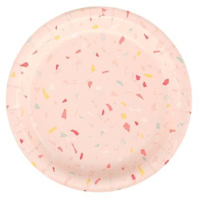 "6.75"" 20ct Snack Plates Pink - Spritz™"