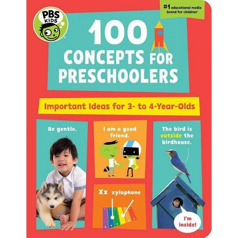 PBS Kids 100 Concepts for Preschoolers - by  The Early Childhood Experts at Pbs Kids (Board_book) - image 1 of 1