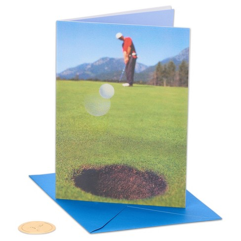 Papyrus Golf Ball Father's Day Card - image 1 of 4