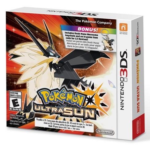 Pokemon Ultra Sun Starter Bundle - Nintendo 3DS