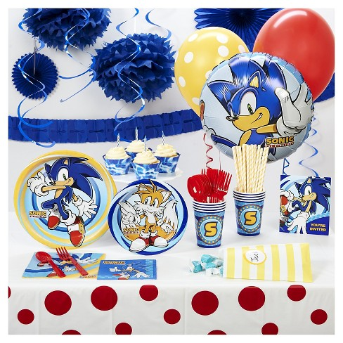 Sonic Deluxe Party Kit for 16 - image 1 of 1