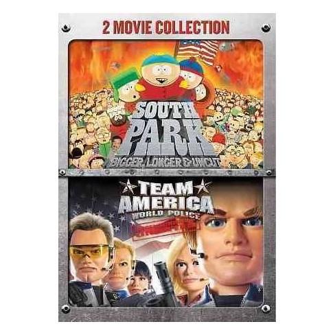 South Park: Bigger, Longer & Uncut/Team America: World Police 2-Pack  (DVD) - image 1 of 1