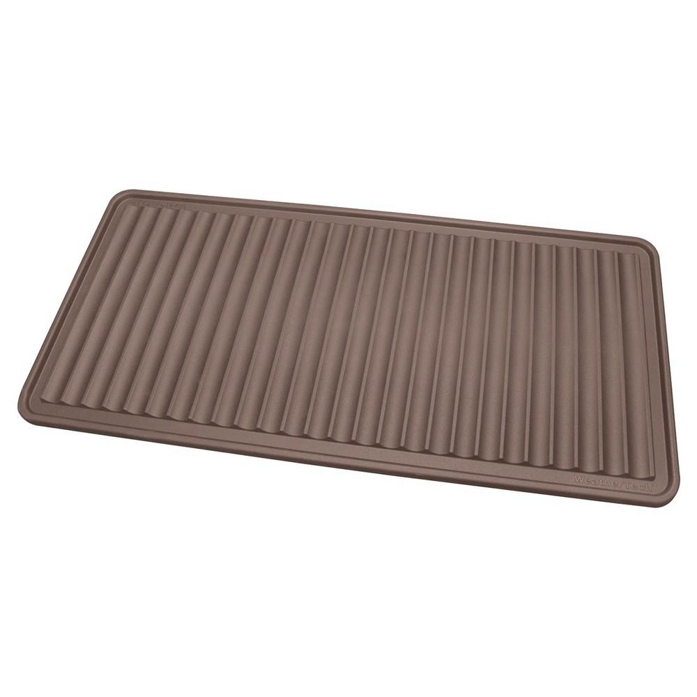 Brown Solid Doormat - (1'6X3') - WeatherTech
