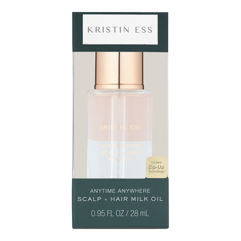 Image of Kristin Ess Anytime Anywhere Scalp + Hair Milk Oil - 0.95 fl oz
