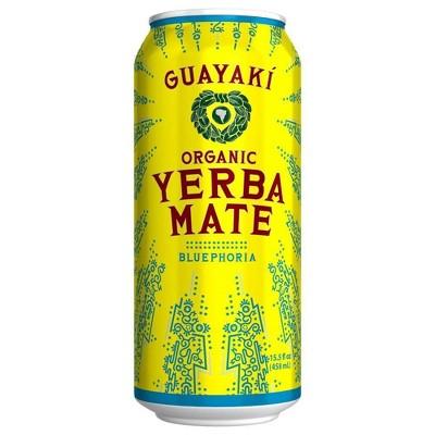 Guayaki Yerba Mate Bluephoria - 15.5 fl oz Can