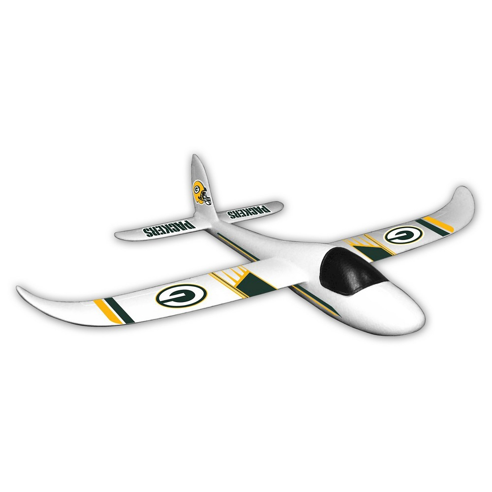 NFL Green Bay Packers Sky Glider Foam Airplane, Multi-Colored