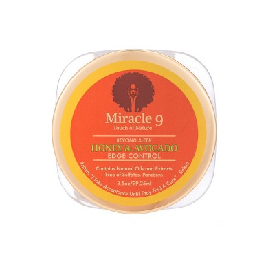 Miracle 9 Touch of Nature Beyond Sleek Hair Edge Control - 3.5oz