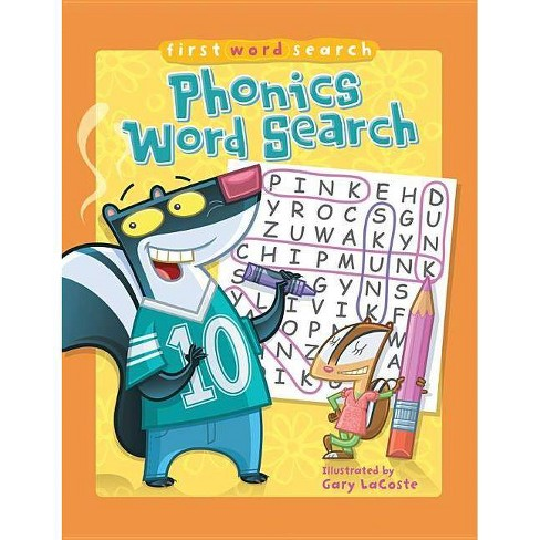 First Word Search: Phonics Word Search - (Paperback) - image 1 of 1
