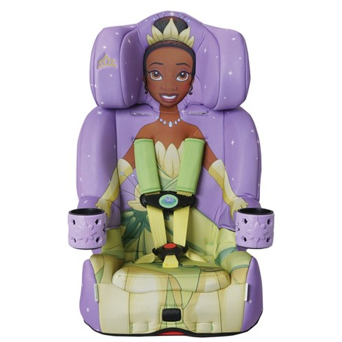 Kids Embrace 2 in 1 Combination Travel Convertible Forward Facing Toddler Child Car Seat and Booster Seat, Disney Princess Tiana - image 1 of 4