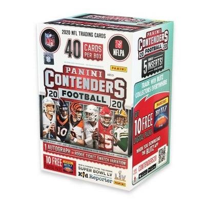 NFL Contenders Football Trading Card Blaster Box