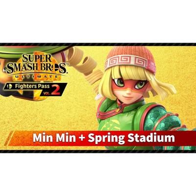 Super Smash Bros. Ultimate: Fighters Pass Vol. 2 Min Min + Spring Stadium - Nintendo Switch (Digital)