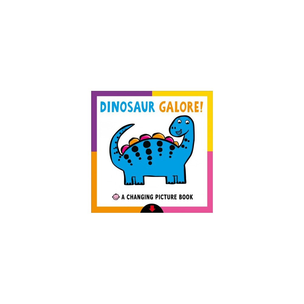 Dinosaur Galore by Roger Priddy (Board Book)