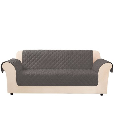 Microfiber Non-Slip Sofa Furniture Protector - Sure Fit
