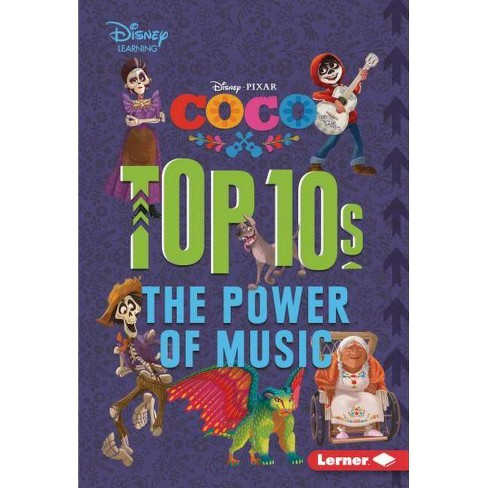 Coco Top 10s - (My Top 10 Disney) by  Jennifer Boothroyd (Hardcover) - image 1 of 1
