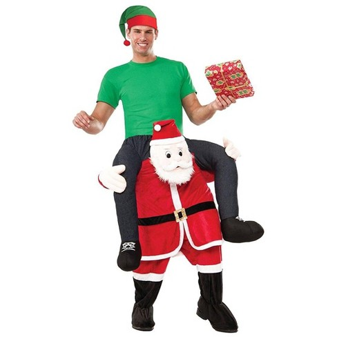 Forum Novelties Special Delivery From Santa Christmas Rider Costume - image 1 of 1