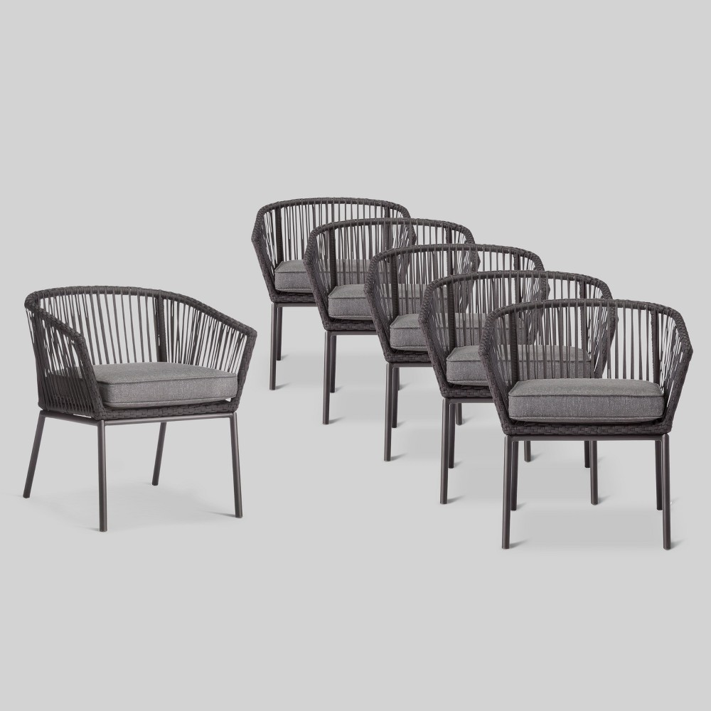 Standish 6pk Patio Dining Chair - Project 62 was $900.0 now $450.0 (50.0% off)