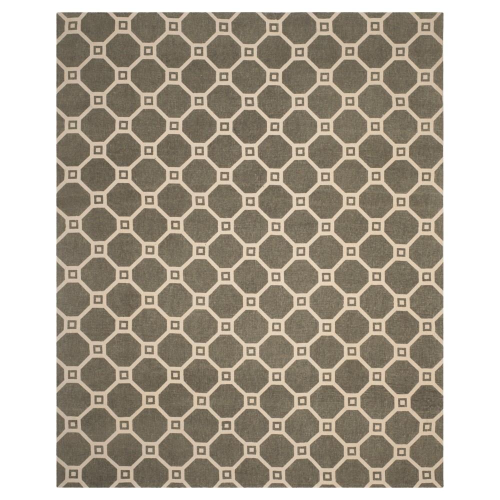 Gray/Ivory Geometric Loomed Area Rug - (5'X8') - Safavieh