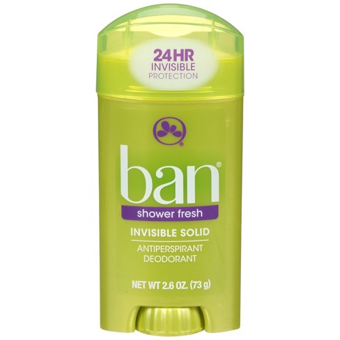 Ban Invisible Shower Fresh Solid 2.6 oz - image 1 of 3