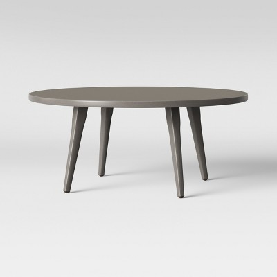 Ponti Metal Top Patio Coffee Table Beige - Project 62™