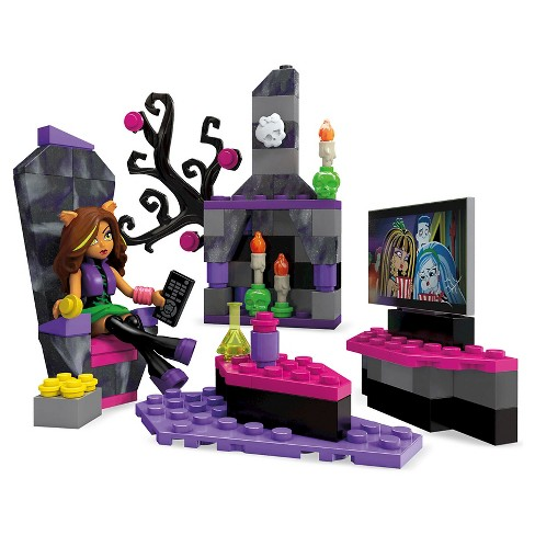 Mega Construx Monster High Clawdeen Wolf Room Building Set - image 1 of 5