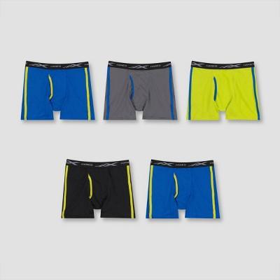 Hanes Boys' 4+1 Bonus Pack X-Temp Boxer Briefs - Colors Vary