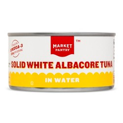 Solid White Tuna Albacore in Water 12 oz - Market Pantry™