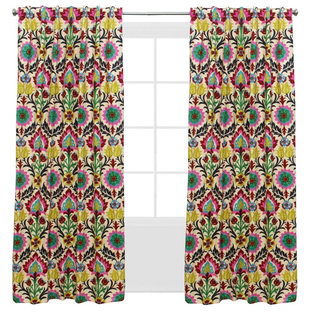Window Curtain Panel Santa Maria Desert Flower (50