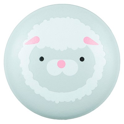 Sumner Street Home Hardware 4pc Lamb Painted Knob Gray