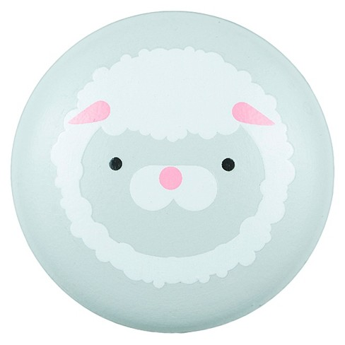 Sumner Street Home Hardware 4 Piece Lamb Painted Knob - Gray - image 1 of 3