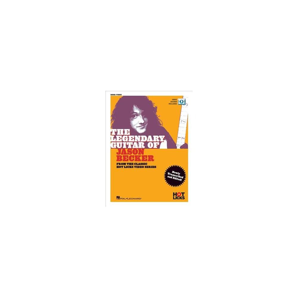 Legendary Guitar of Jason Becker - Pap/Psc (Classic Hot Licks Video) (Paperback)
