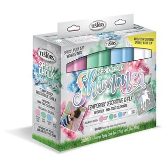 As Seen on TV Testors Shimmer 6oz Spray Chalk Set