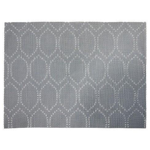 Railroad Gray 19 X 14 X .03 Placemat - Threshold™ - image 1 of 1