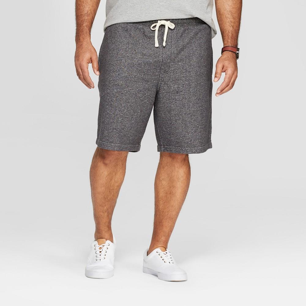 Men's Big & Tall 11 Regular Fit Lounge Shorts - Goodfellow & Co Railroad Gray 3XB