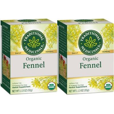 Traditional Medicinals Fennel Organic Tea - 32ct