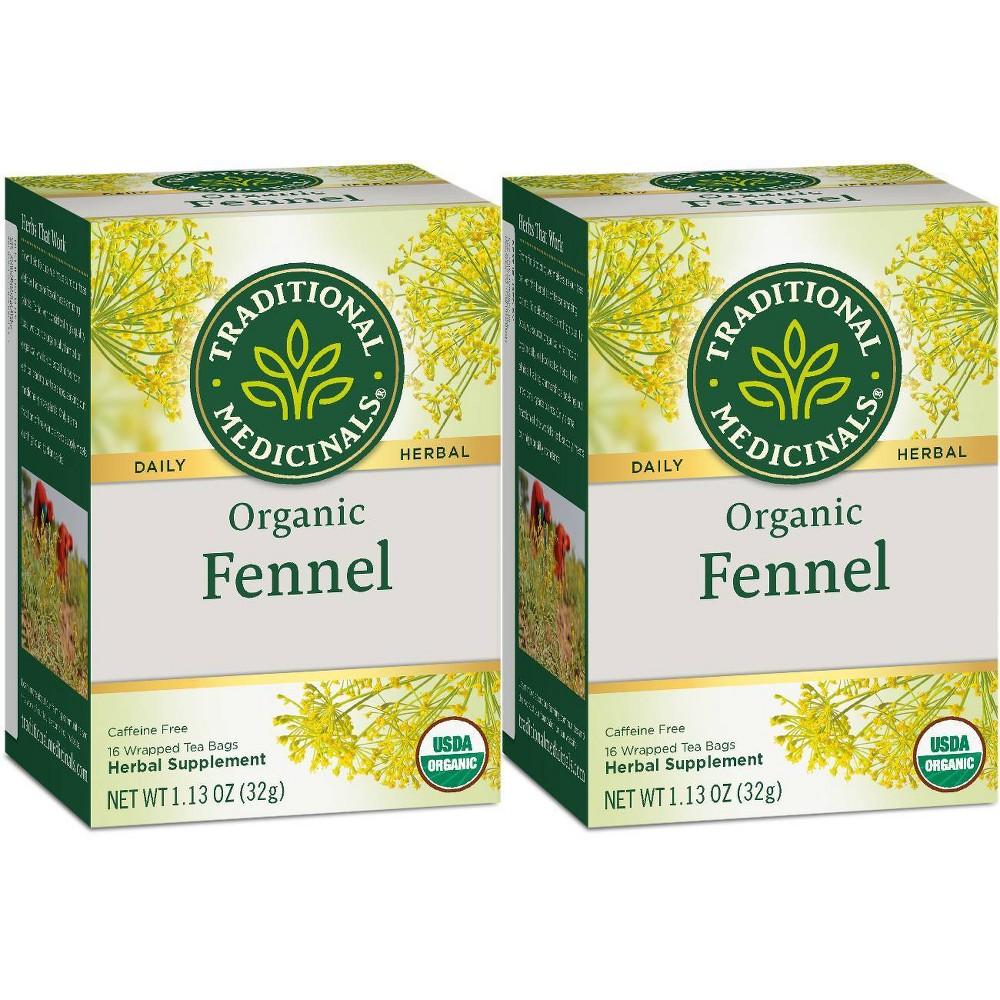Traditional Medicinals Fennel Organic Tea 32ct