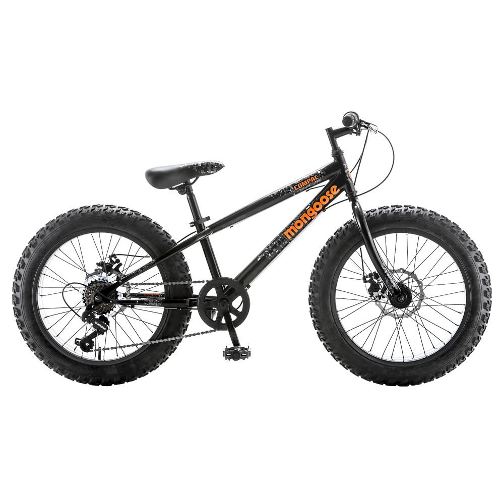 Mongoose Compac Mountain 20 Kids' Bike - Black/Orange