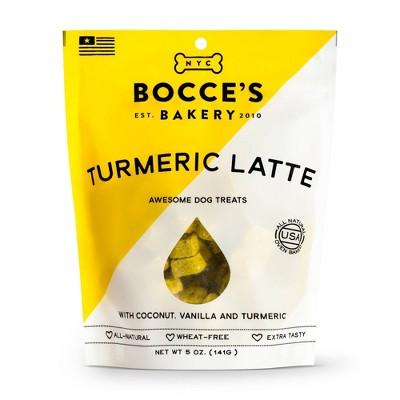 Bocce's Bakery Turmeric Latte Dog Treats - 5oz